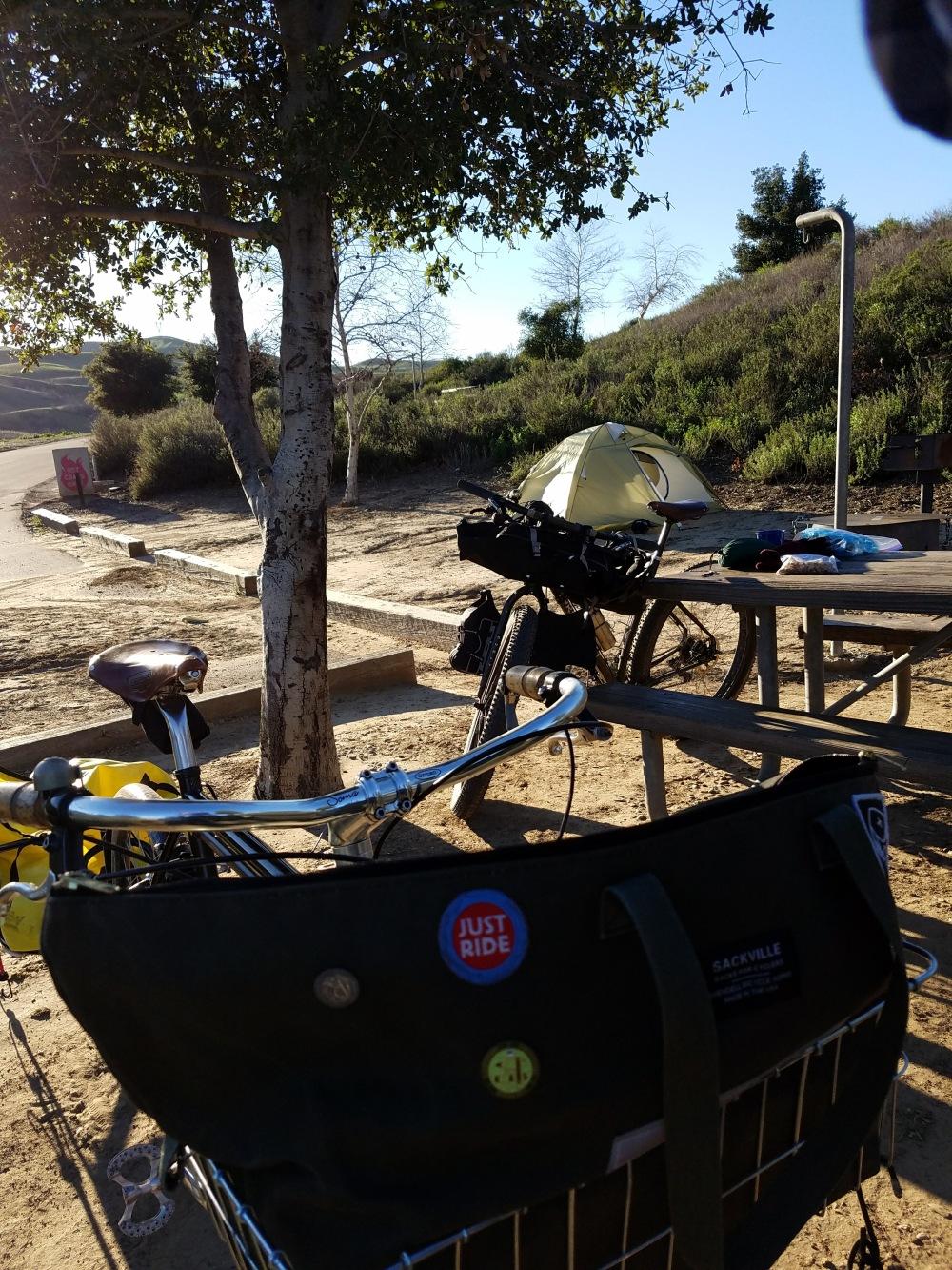 campground-bikes